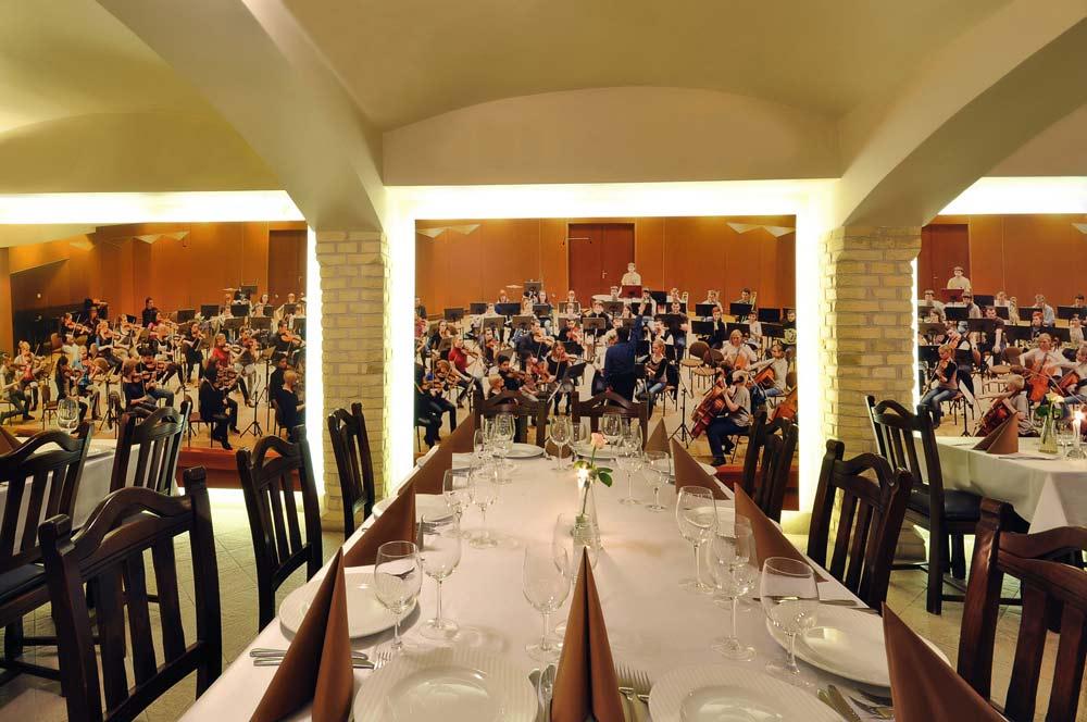 Zdjęcie wykonane w lokalu Restauracji Harmonia przy ulicy Łąkowej