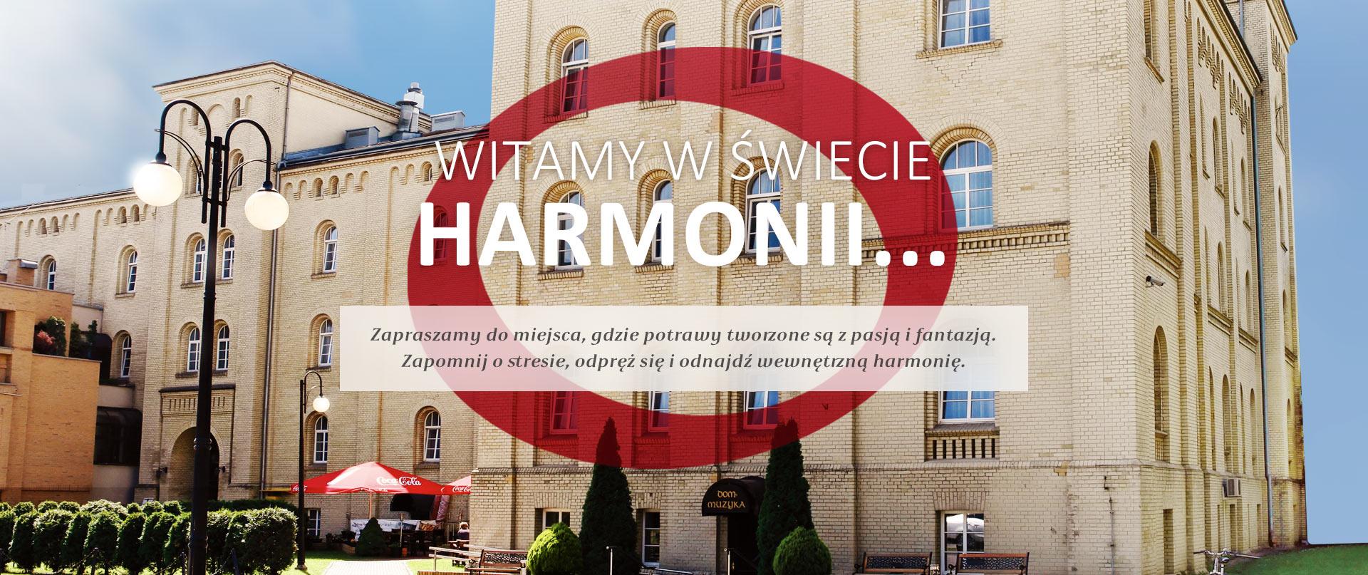 Harmony Restaurant - Wejście do budynku