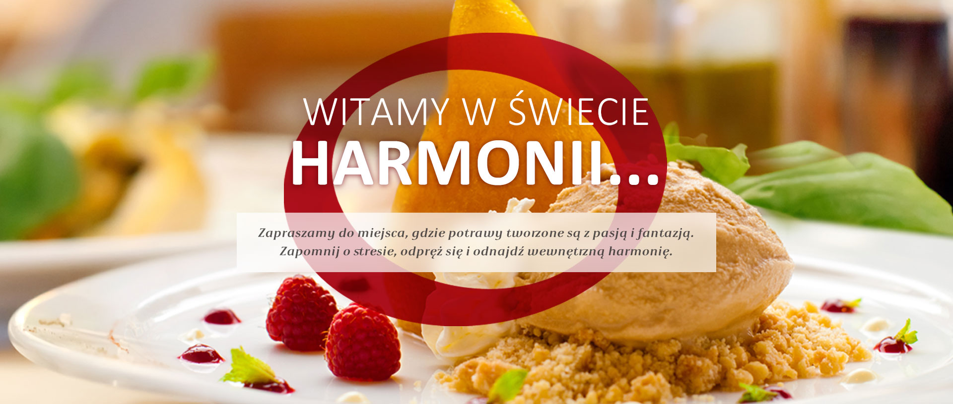 Restauracja Harmonia - Zdjęcie w sliderze nr 2
