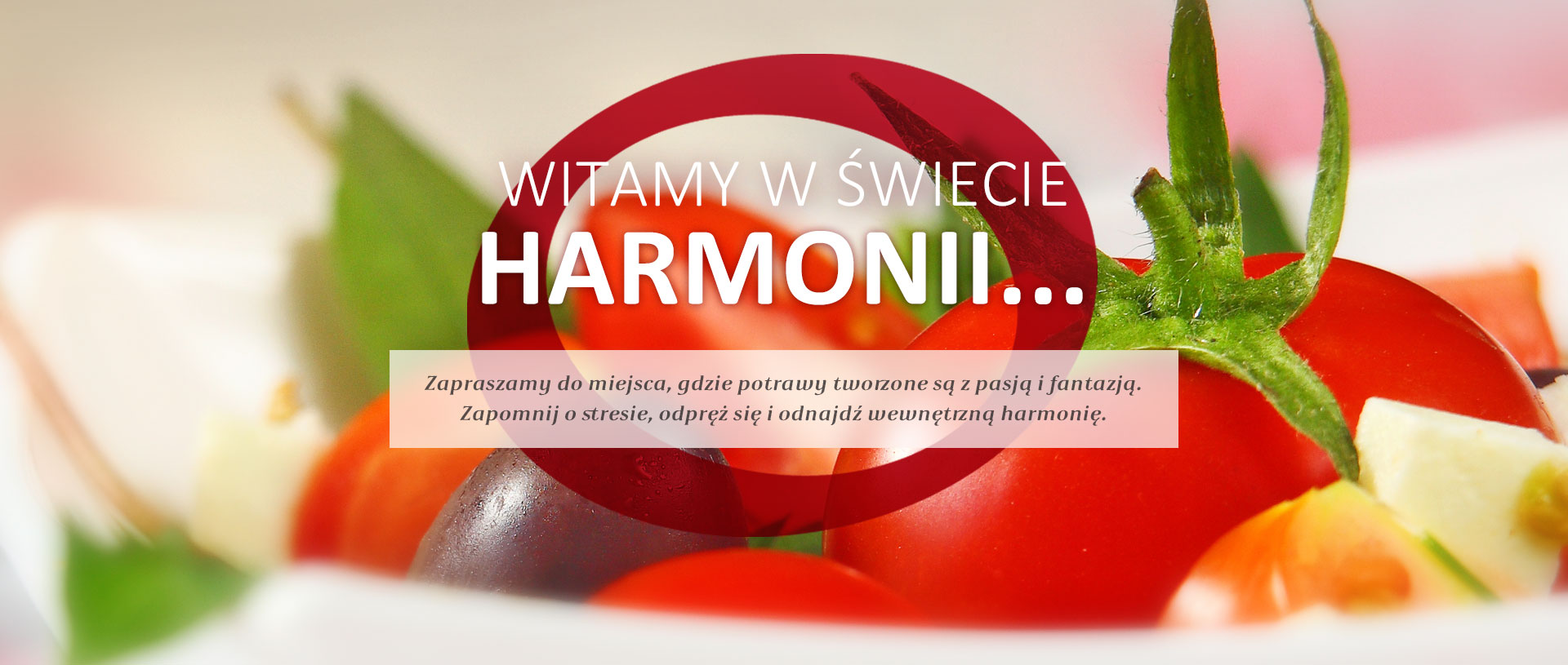 Restauracja Harmonia - Zdjęcie w sliderze nr 1