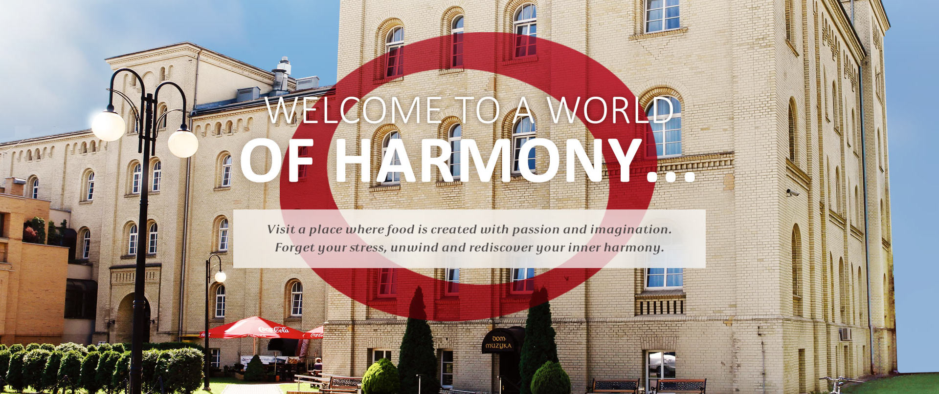 Harmony Restaurant - Our Restaurant