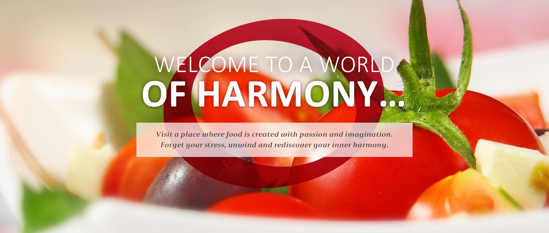 Harmony Restaurant - First slider image