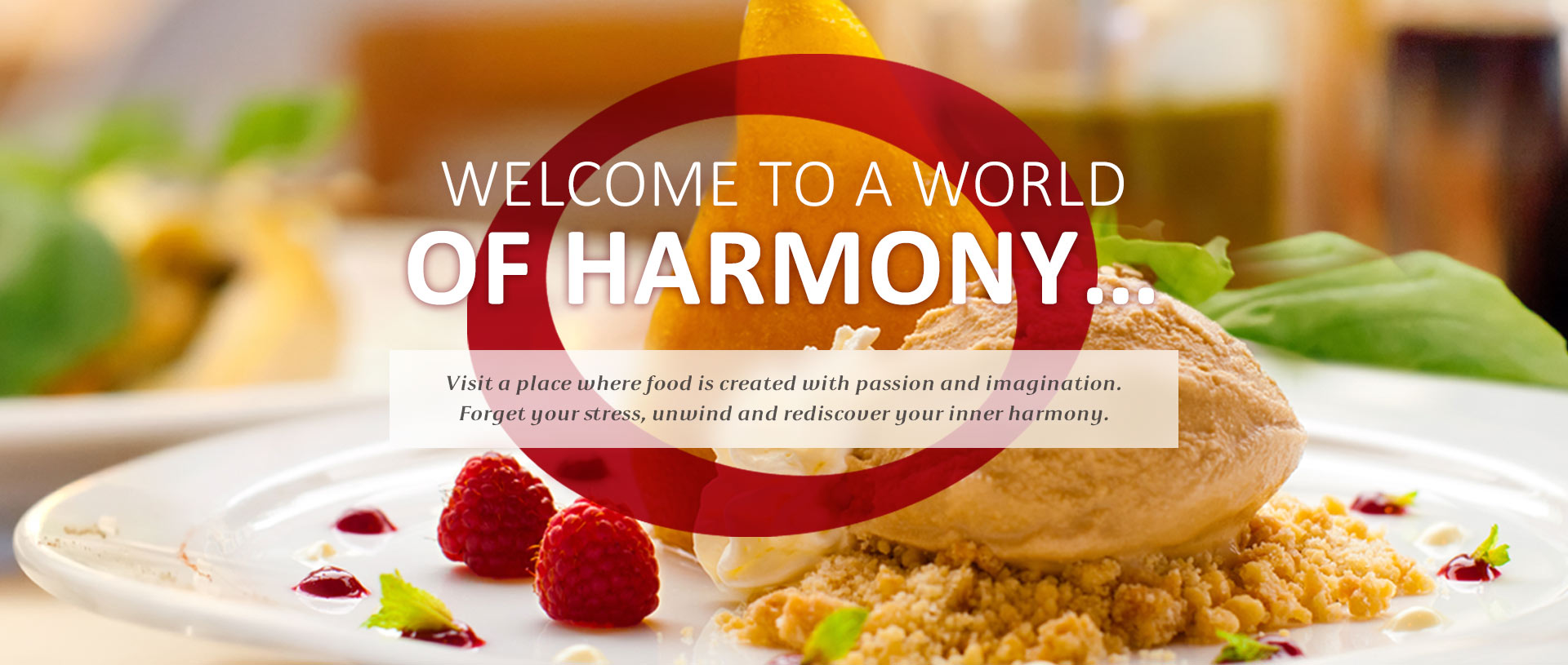 Harmony Restaurant - Second slider image