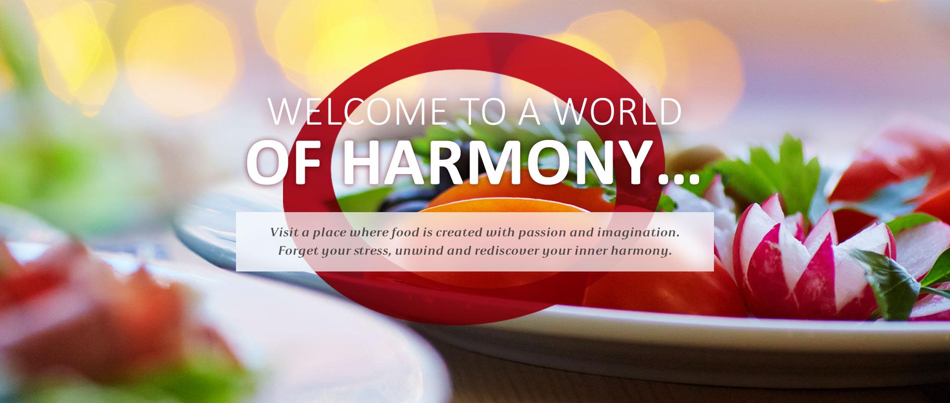 Harmony Restaurant - Fourth slider image